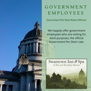 Government Per DIem in Olympia