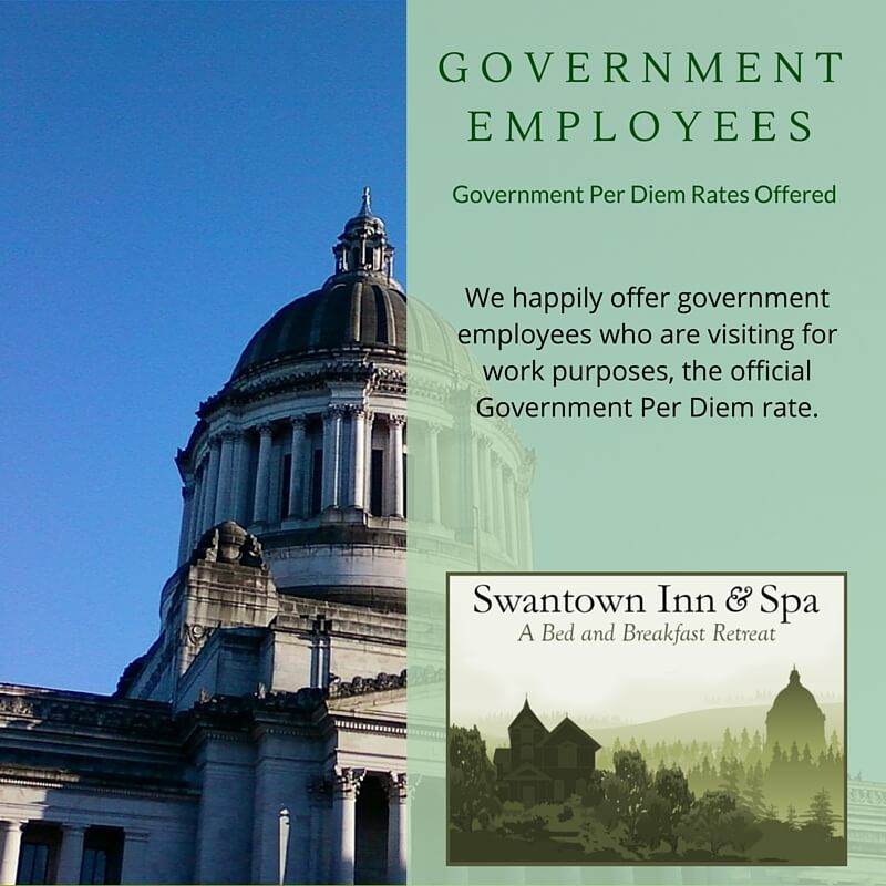 Olympia Government Per Diem
