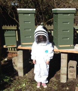 Olympia Beekeeper Lauren Allan