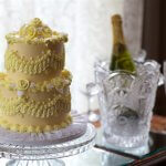 Wedding cake and Champange