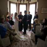 Get married in the Bay Window or the parlor