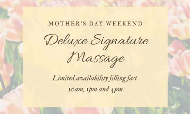 Mother's Day Pampering | Bookings and Gift Certificates