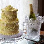 Wedding cake and Champange